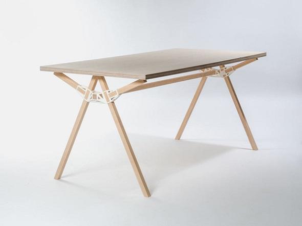 Keystones Table by Minale Maeda