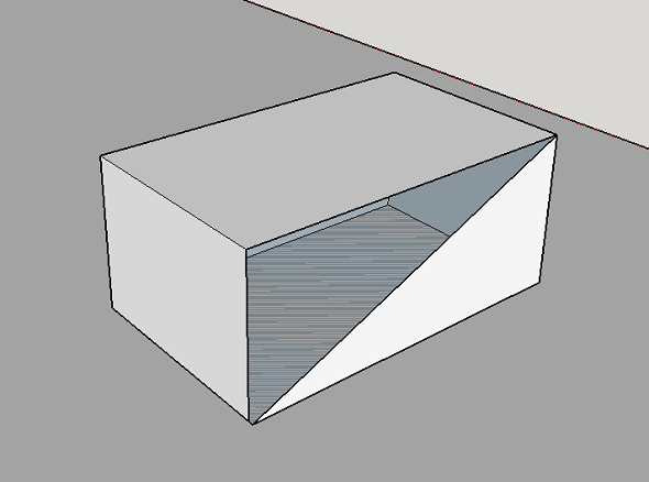 learn to make a sketchup model watertight