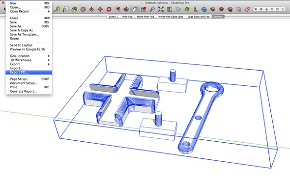 export sketchup file as stl for 3d printing
