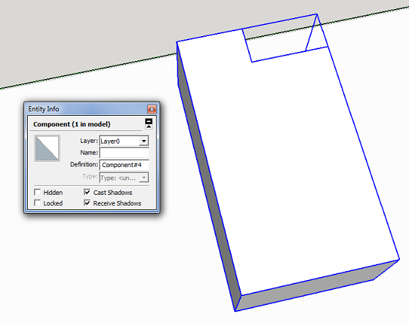 look inside your sketchup model for 3d printing