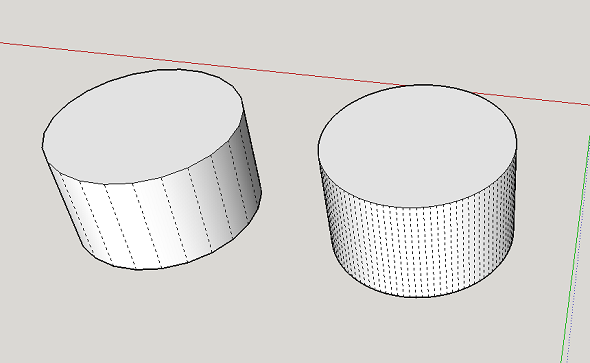 learn to create smooth faces for 3d printing in sketchup