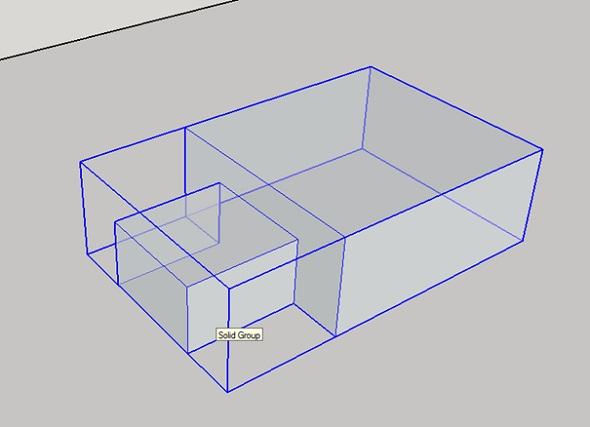 groups 3D model in sketchup for 3d printing