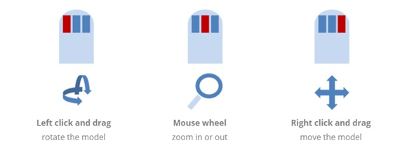 Basic mouse controls for 3DSlash