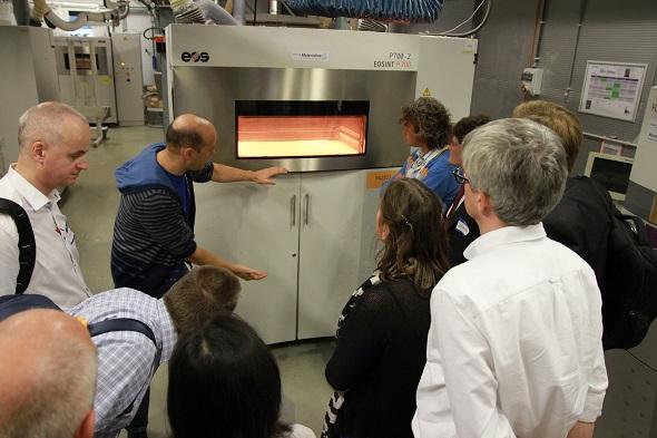 laser sintering 3d printer