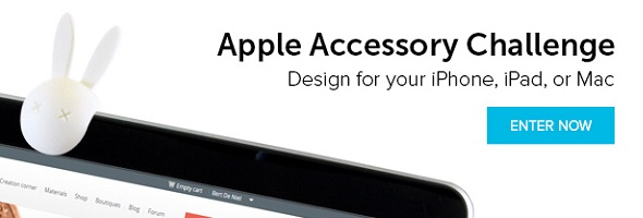 Apple Accessory 3D Printing Challenge: Win a 3D Print of Your Apple Gadget Add-on + a 200 EUR Voucher!