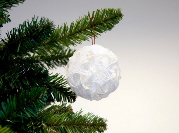 Quin Christmas Tree Ornament by Bathsheba Grossman