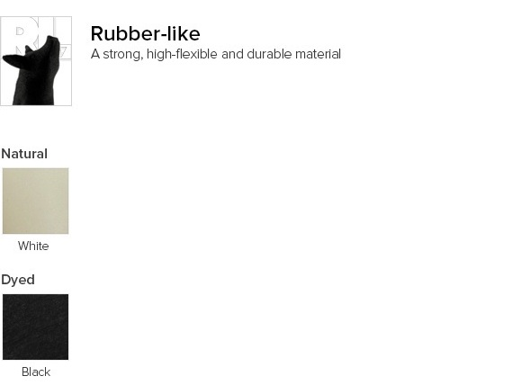 3D printing in rubber-like: 100 3D printing materials explained