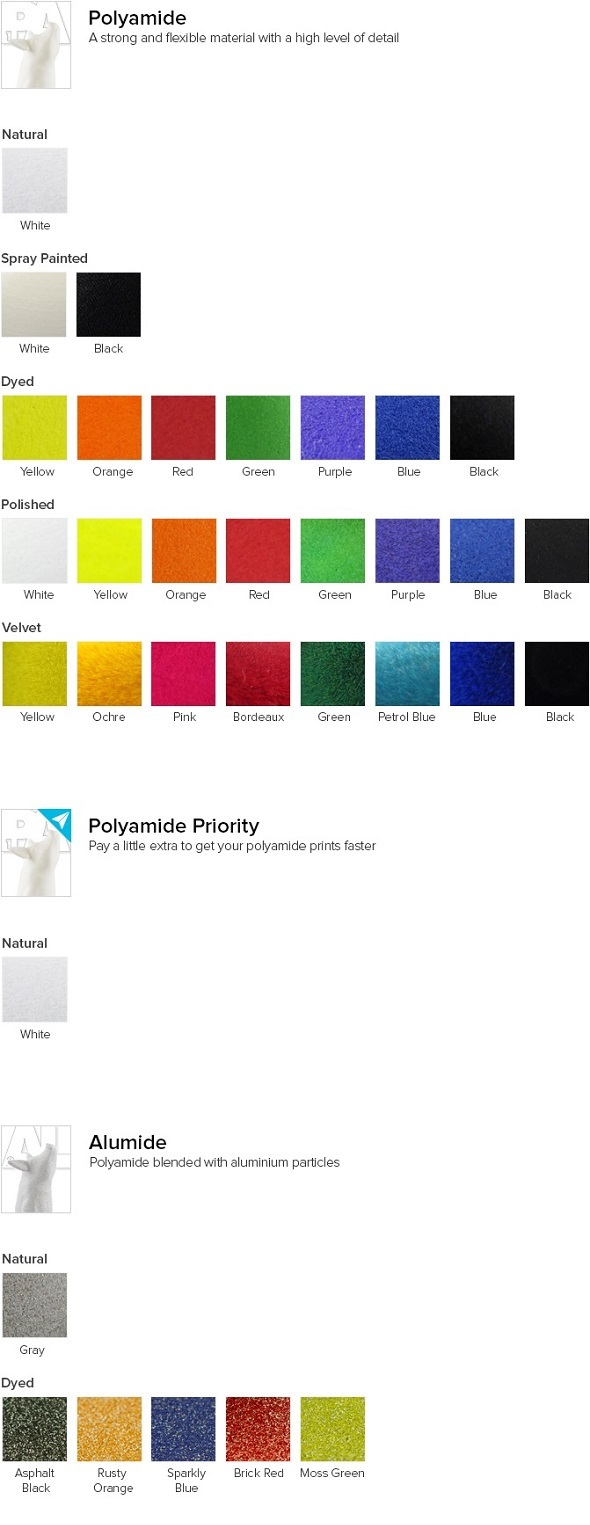 3D printing in Polyamide and Alumide: 100 3D printing materials explained
