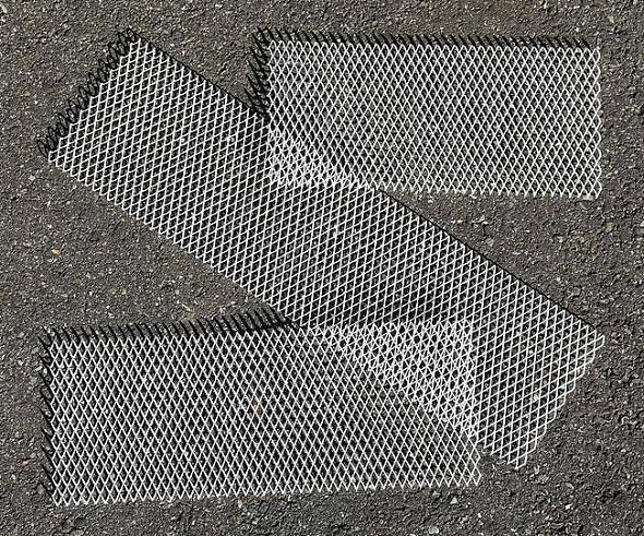 一見すると何の変哲もない、3Dプリンタ製の板。©DRZACH & SUCHY