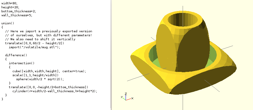 OpenSCAD Tutorial & Cheat Sheet | 3D Printing Blog | i materialise