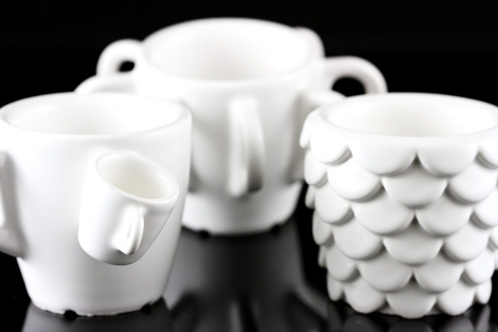 3D Printed Ceramics Cups, Designed & Printed in 30 Days ...