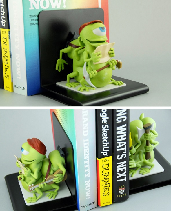bookworms-multicolor-3d-print