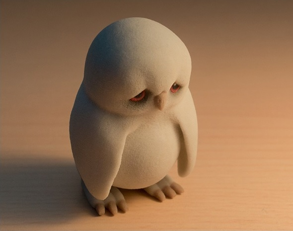 sad-owl-muticolor-3d-print