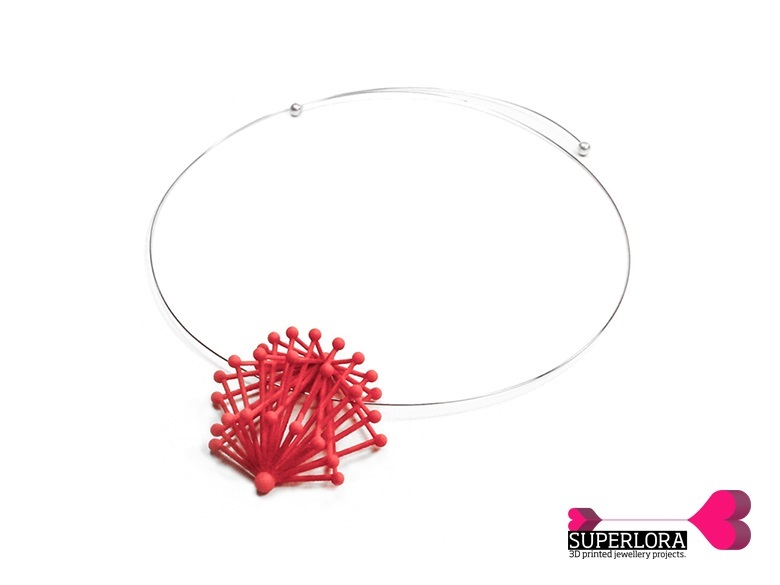 Urchin Necklace - Project Future by Superlora