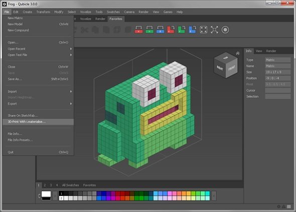 Qubicle review tutorial 3d printing with a voxel editor 3d model editor