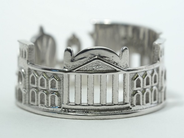 - 3d Skyline-ring-berlin dicetak