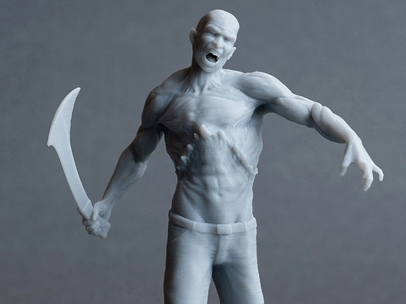 Zombie-3d-print-created-in-zbrush