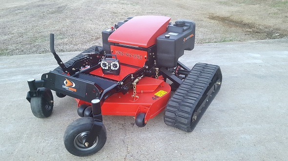 lawn mower with 3D printing