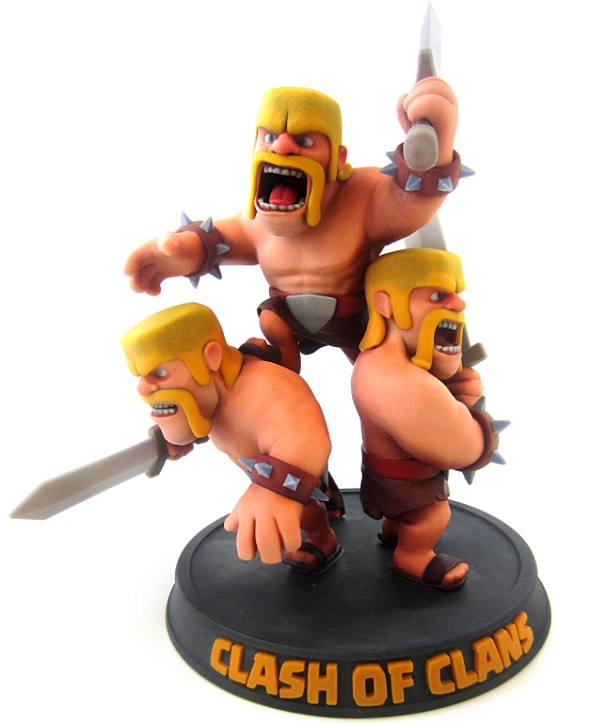 clash-of-clans-muticolor-3d-print