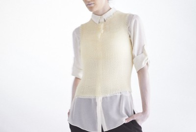 Wearable 3D Printed Tech from Japan: Masaharu Ono's Knitted Vest