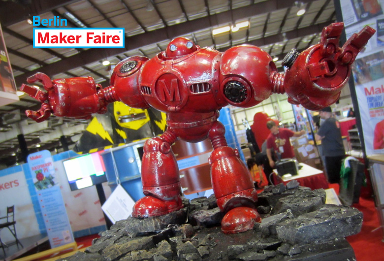 Meet Us at Maker Faire Berlin From September 30 – October 2