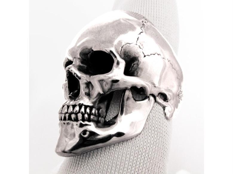 3d-printed-skull-ring-silver