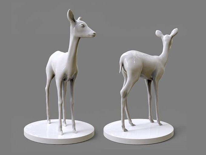 3d-model-deer
