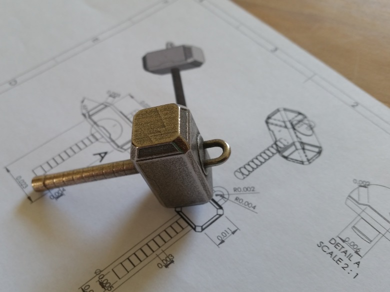 3d-printed-steel-keychain