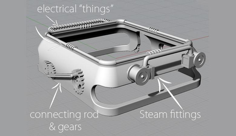 3d-model-apple-watch-steampunk