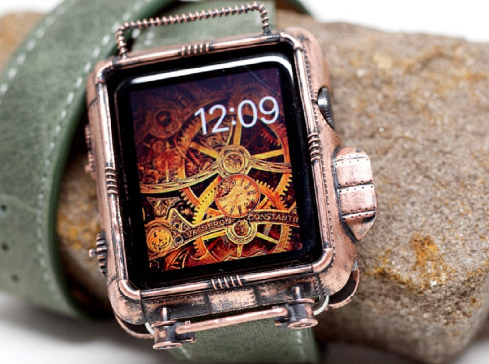 new product 6bd74 81921 A 3D Printed Steampunk Apple Watch Cover in Copper | 3D Printing ...