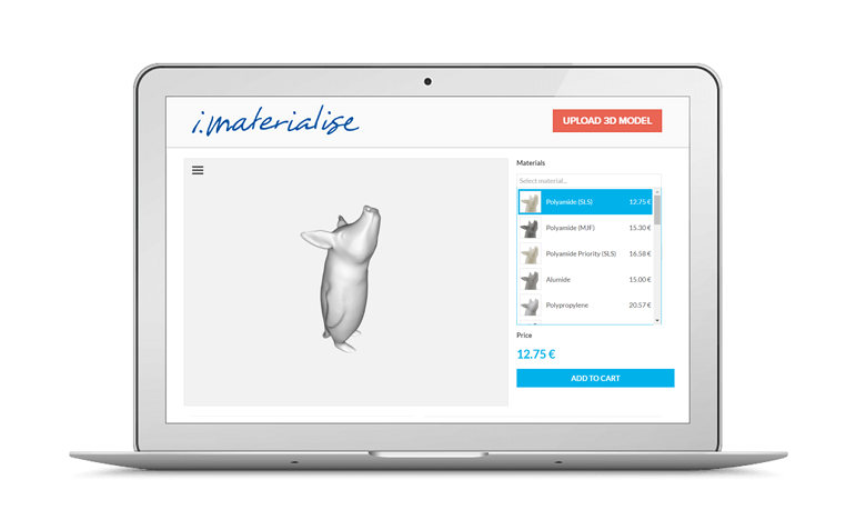 i.materialise compare materials screen