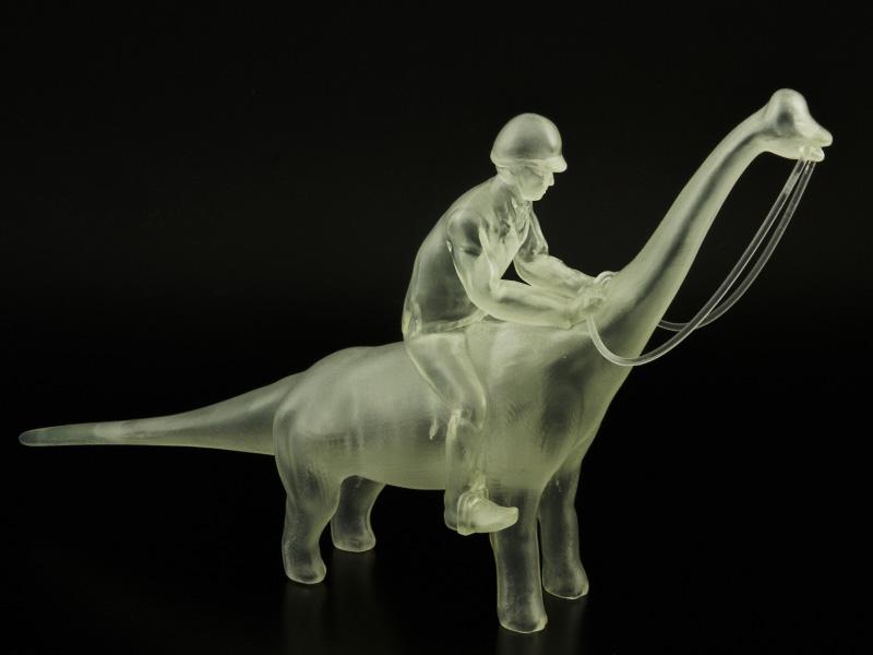 Dino Rider by Bert De Niel