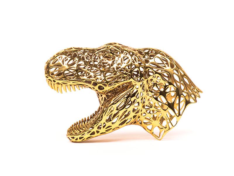 3D-printed-TRex-Brass