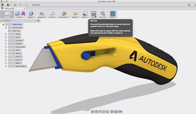 fusion 360 exprot to pdf
