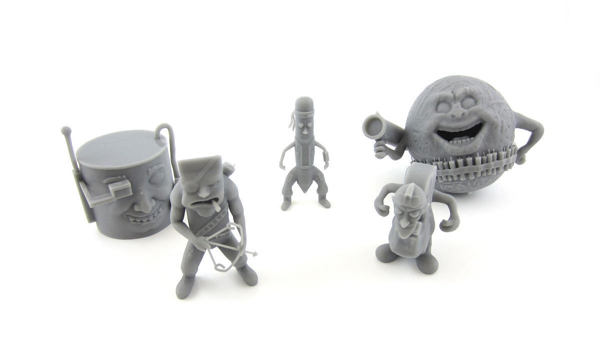 3D printing in gray resin | 3D Printing Blog | i materialise