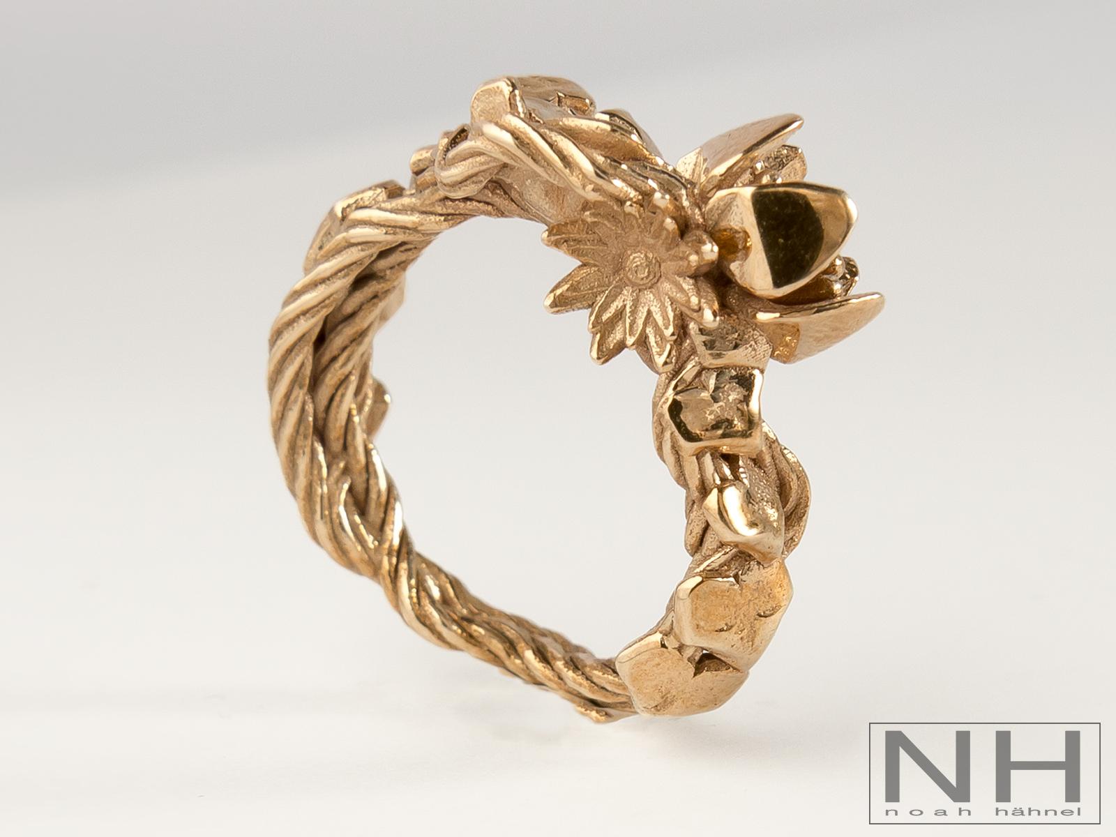 German Wedding Ring 94 Elegant Garden Ring