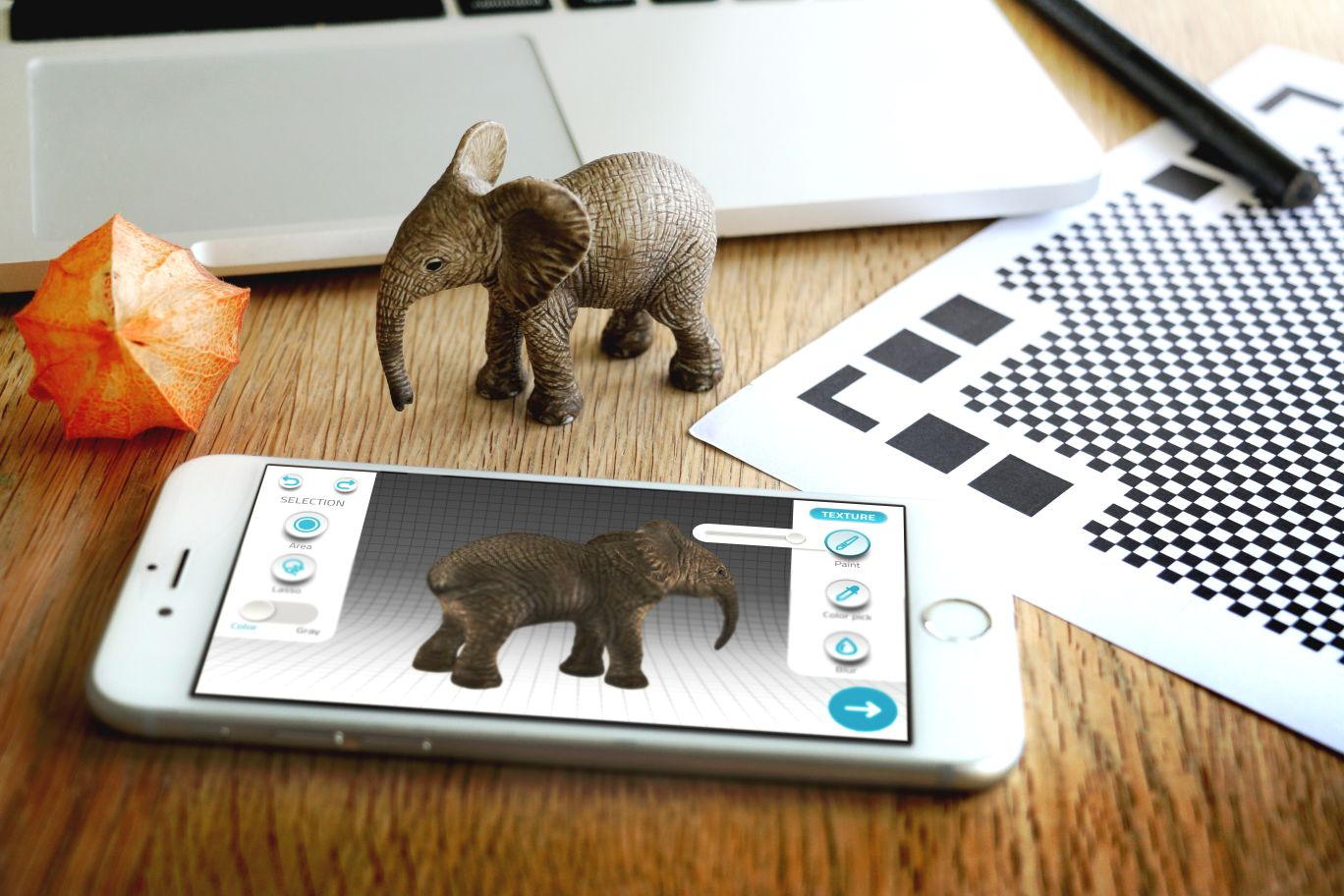 3D Scan Real Objects with Qlone and 3D Print Them with i.materialise
