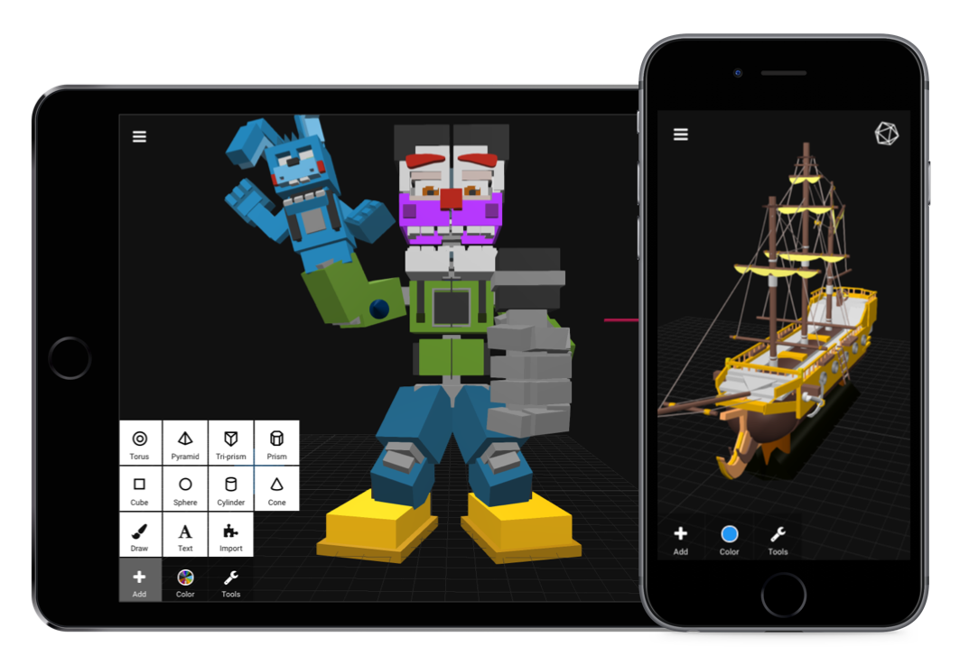 Top 10 Mobile Apps To Design And 3d Print 3d Printing Blog I Materialise