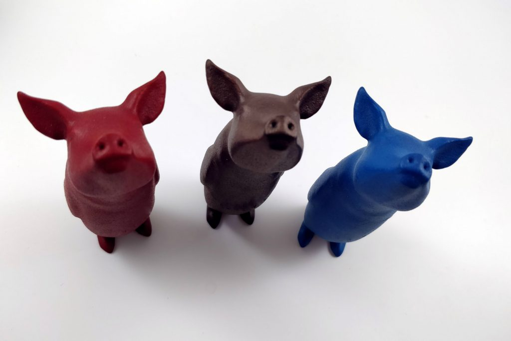 Discover Three New Colors for Your 3D Prints in Polyamide (SLS)