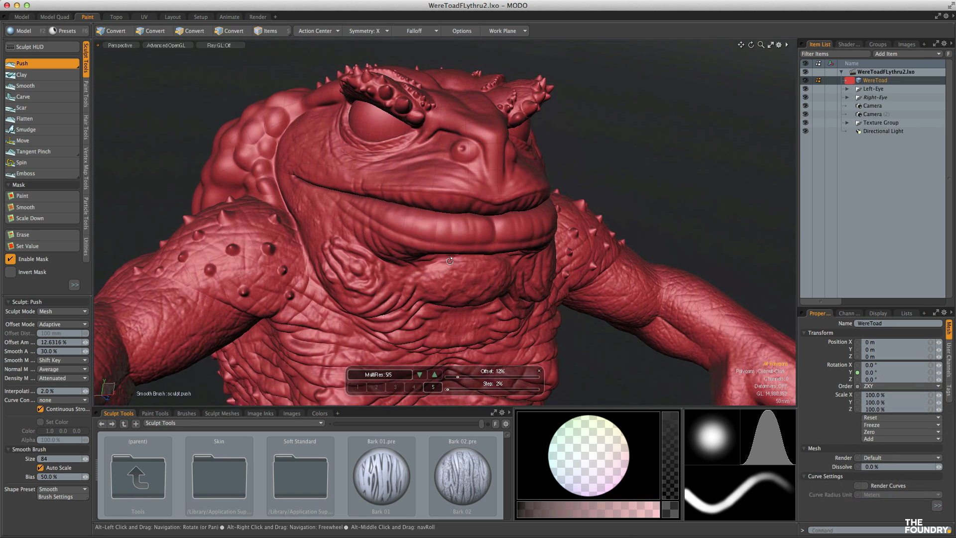 The foundry discloses more information on modo 901 cgpress.