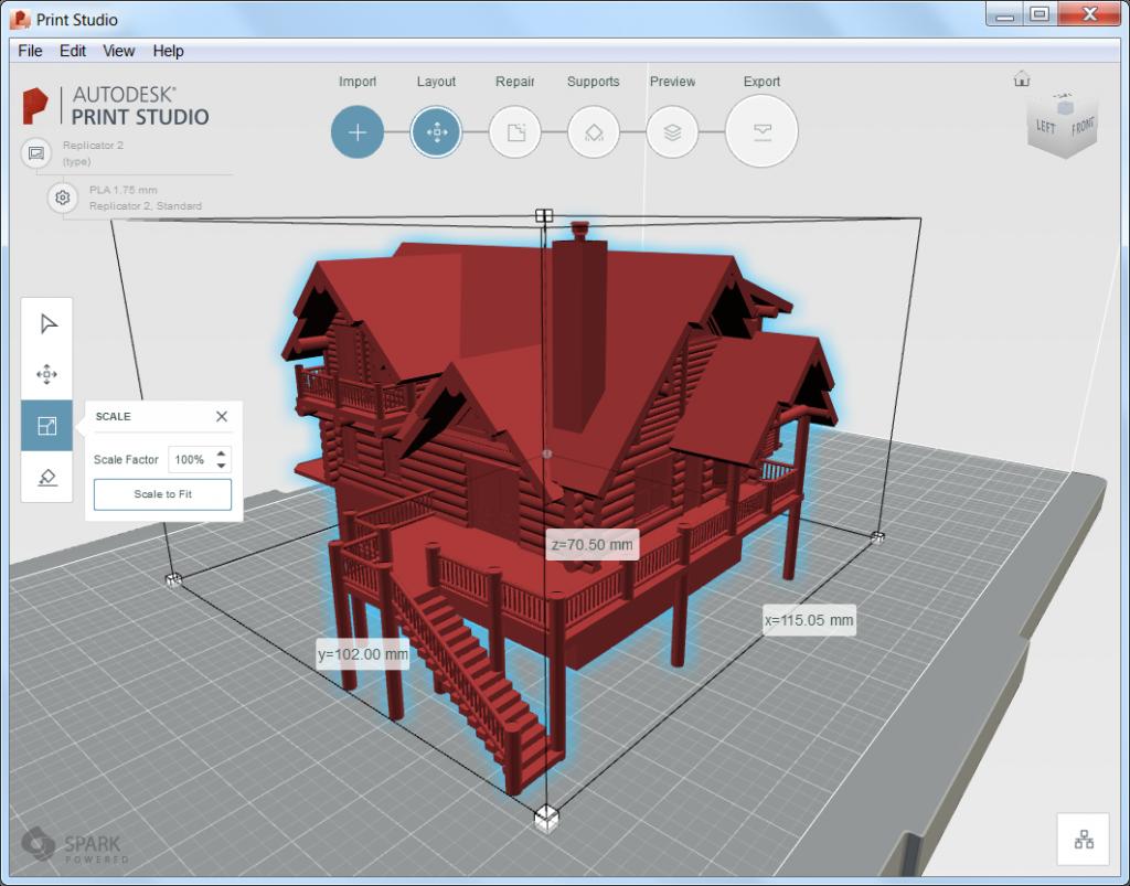 Autodesk Print Studio