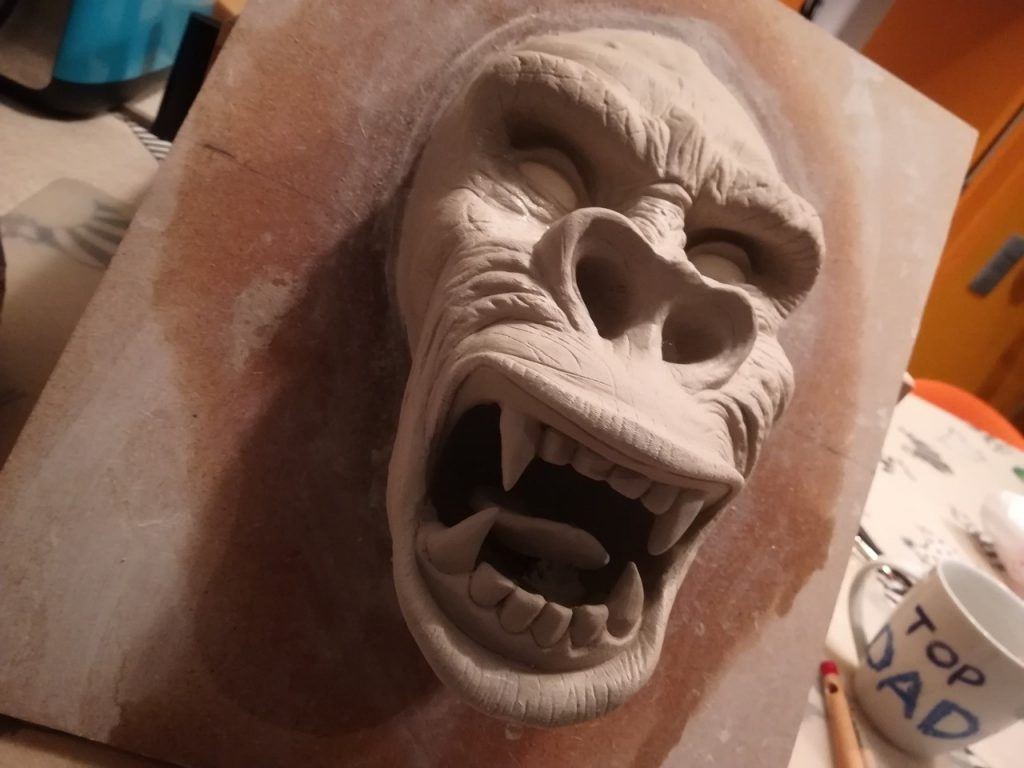 Clay Gorilla