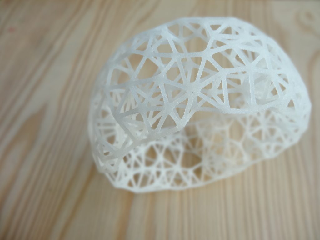 Ucello's Nest by Cristian Marzoli. Rubber-like Natural
