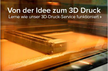Von der Idee zum 3D Druck