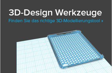 3D-Design Werkzeuge