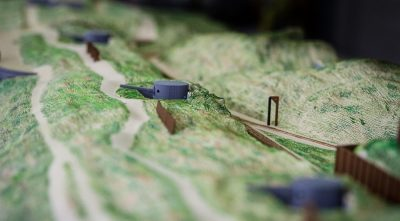 Experience World War I with this 3D-Printed Model of the Belgian Coastline