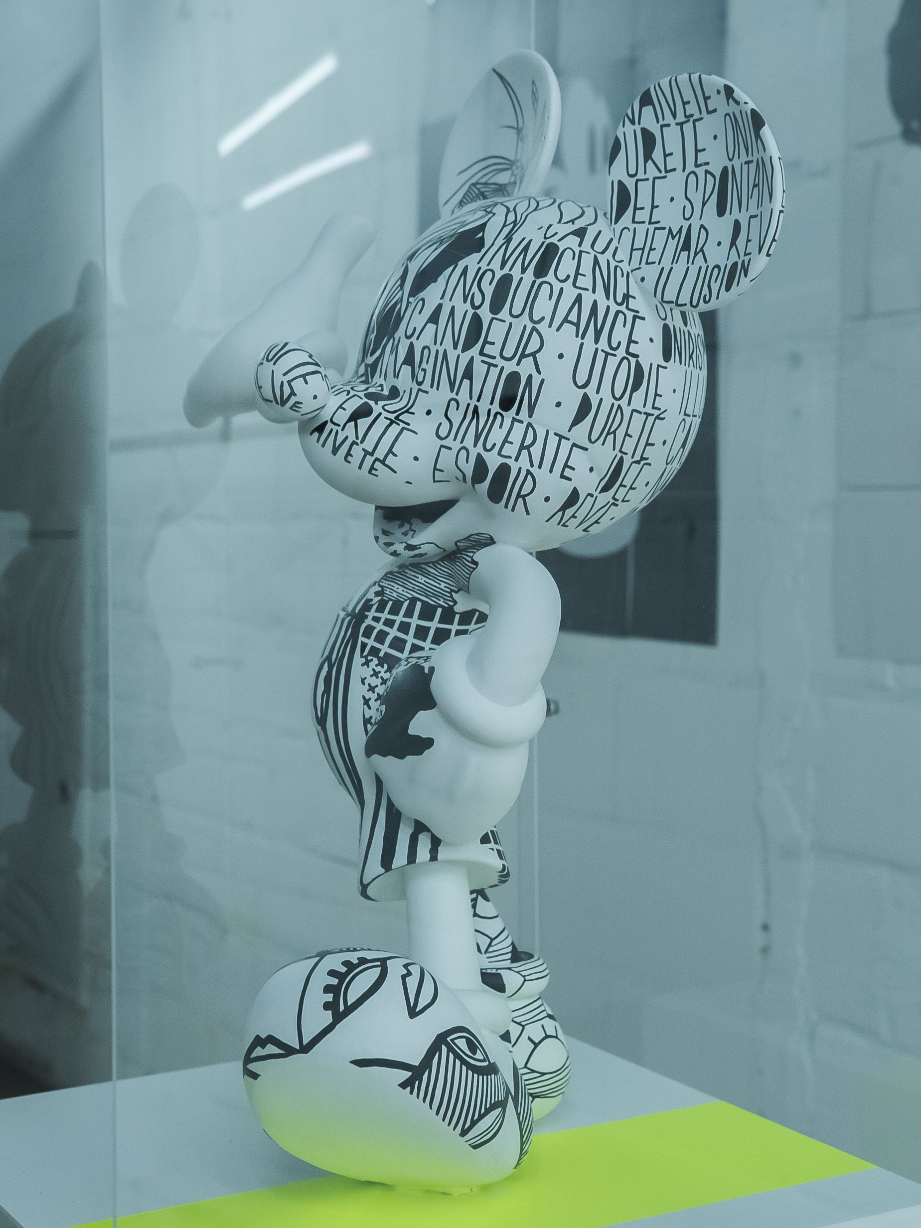 3D Printed Statues Mickey Mouse