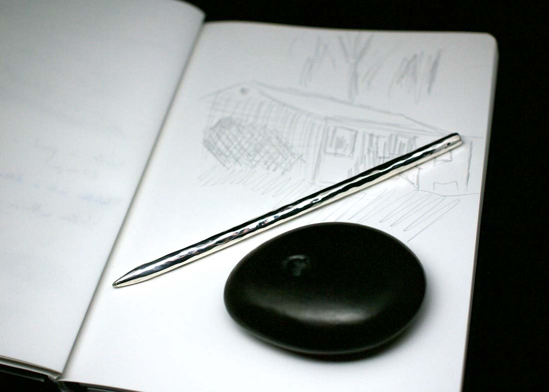 Silver Stylus for Stone Paper