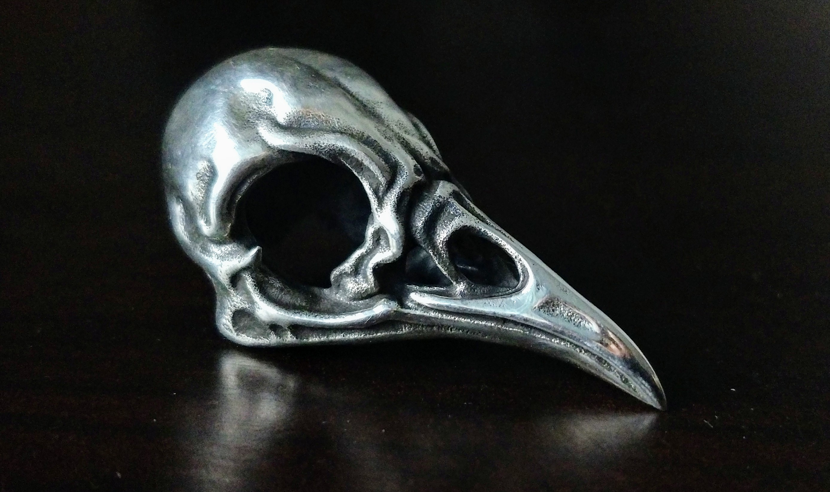 Example of a 3D printed model using antique finish