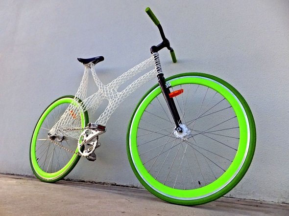 Bike frame 3D printed using Mammoth Resin